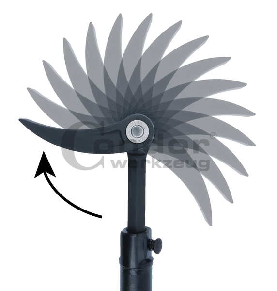 Barre de levier télescopique avec mâchoire réglable | 610