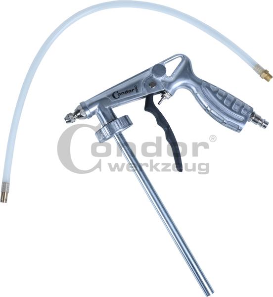 Pistolet peinture sp cial sous couche et peinture anti gravillon diam tre 5 mm - Pistolet peinture automobile ...