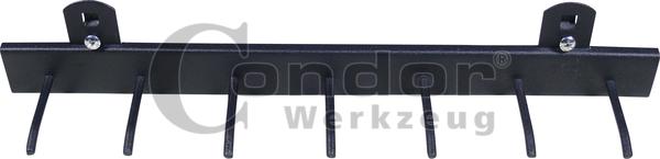 rail de suspension pour servante d 39 atelier 7 crochets 7934. Black Bedroom Furniture Sets. Home Design Ideas